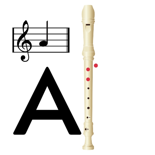 fingerings a note on recorder