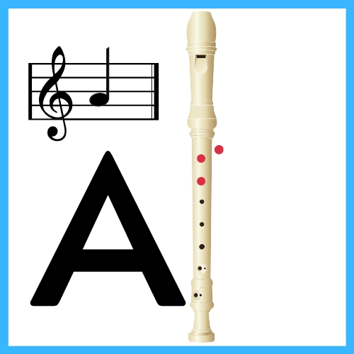 A on recorder