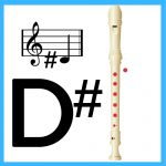 how to play d sharp on recorder
