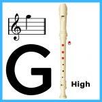 high g on soprano recorder