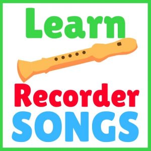 easy recorder songs with letters