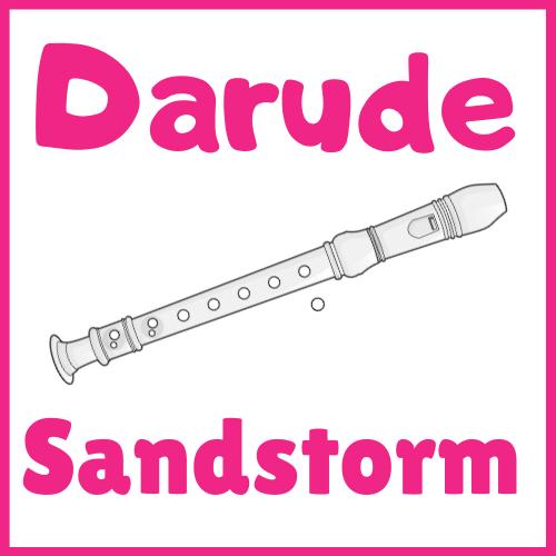 darude sandstorm on recorder